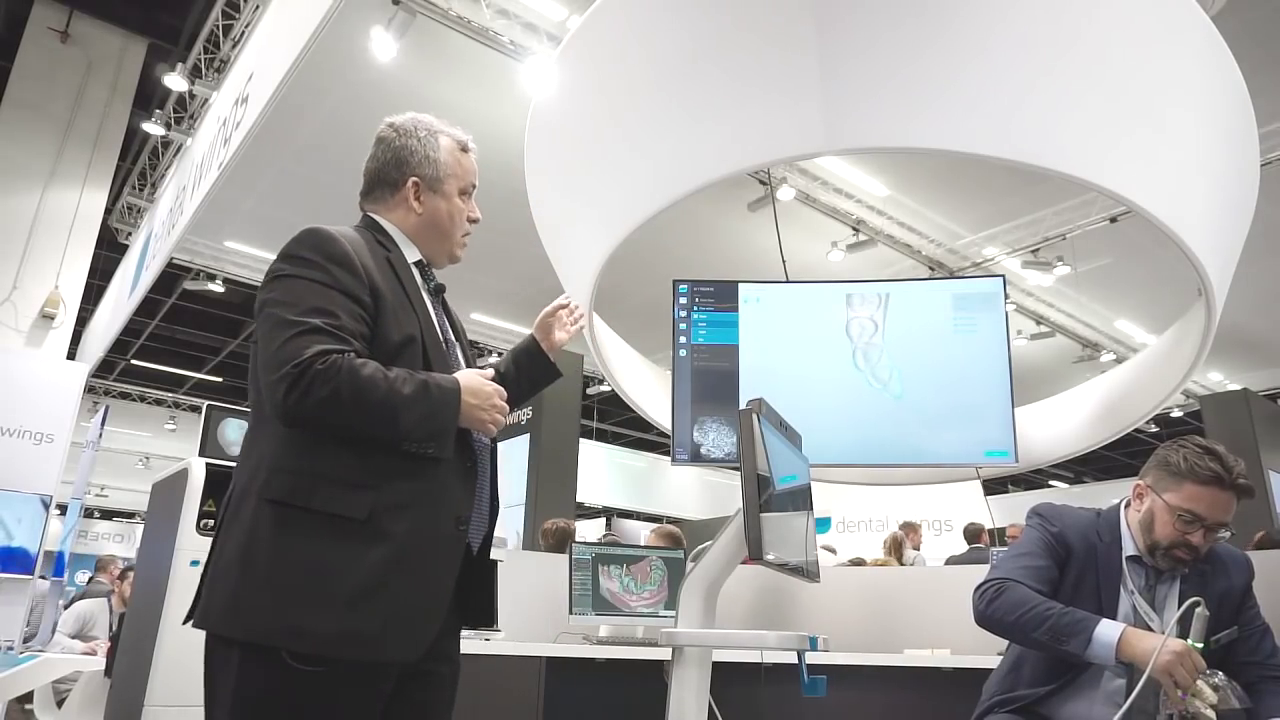 IDS 2017 Stage Show - Dental Wings DWOS Chairside Workflow