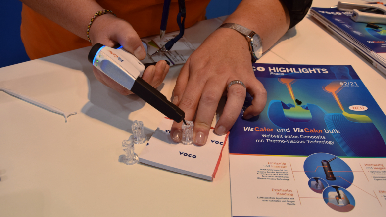 Three products you can discover at the VOCO booth